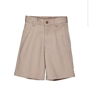 Boys Izod shorts flat front adjustable waist